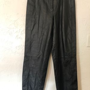 Chadwick's size 12, 100% leather pants